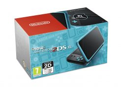 new 2ds xl black blue