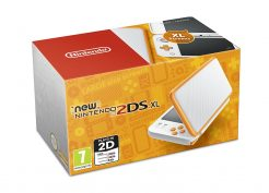 new 2ds xl white orange