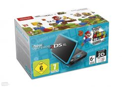 new 2ds xl blue mario 3d land