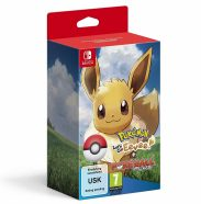 pokemon lets go evee plus poke ball nintendo switch