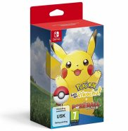 pokemon lets go pikatchu plus poke ball nintendo switch