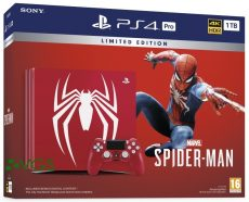 ps4 pro limited edition spider man