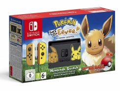 Nintendo Switch Lets Go Eevee Limited Edition Bundle
